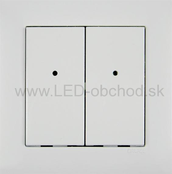 RFWB-40 G komplet biely - nástenný diaľkový ovládádač pre 4 zóny c2c61133632