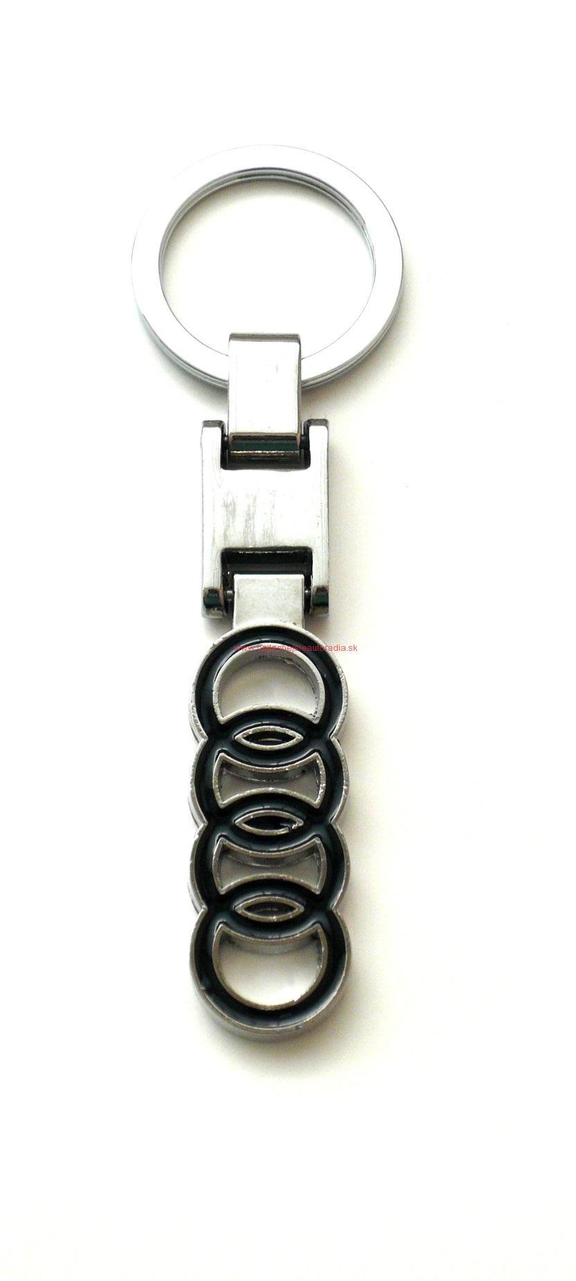 Prívesok na kľúče s logom Audi 51459009306