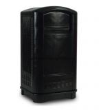 Kôš Landmark Junior s popolníkom 132,5 L Rubbermaid FG9P9100 BLA