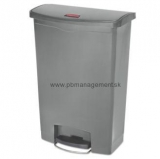 Step ON SLIM 90L nášlapný s koliečkami Rubbermaid  1883606