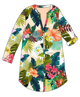 Desigual SAUVAGE Beachdress