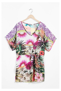 Desigual Beachdress BOTANICAL DREAM