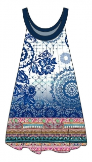 Desigual EXOTIC JEANS beachdress