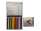 Pastelky GIOTTO SUPERMINA / 24 ks Metal box