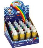 Lepidlo glitter 20ml/24ks