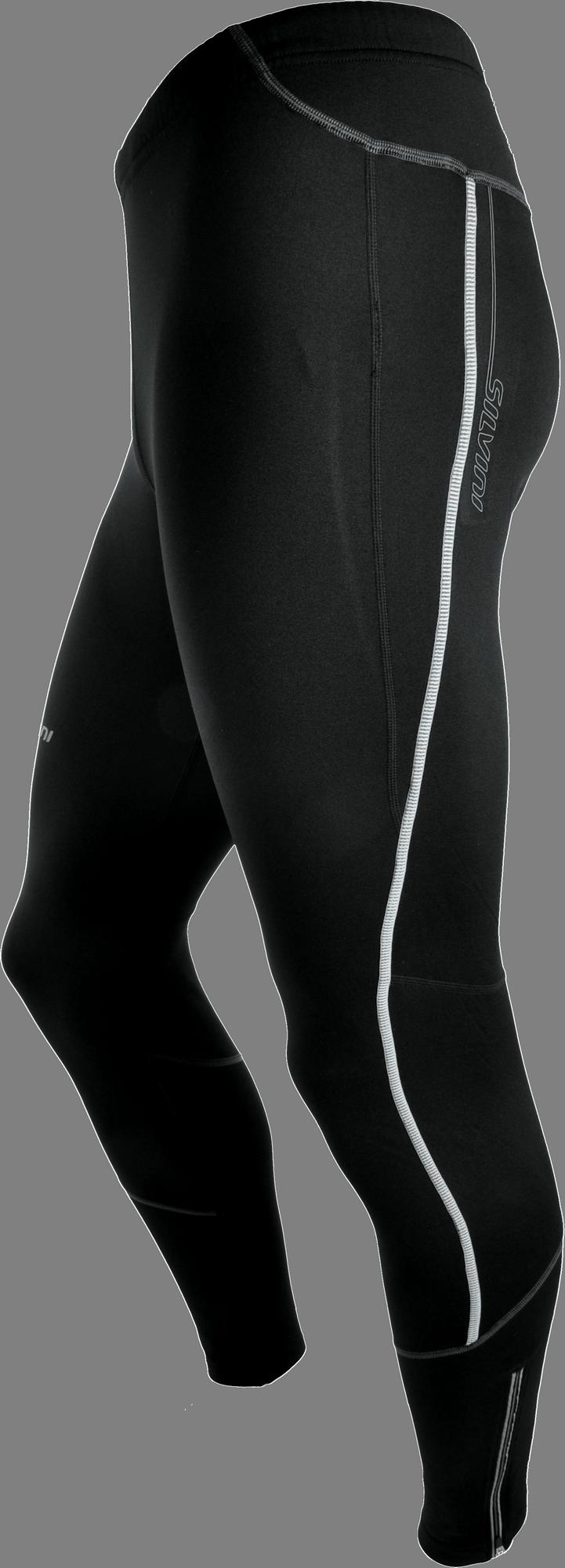 3d403a82cada Pánske elastické zateplené nohavice Silvini Rubenza MP1116P s vložkou čierne