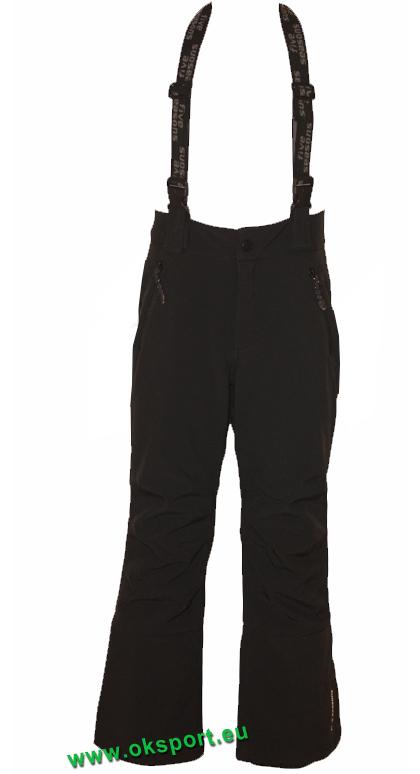 3efb48c6e658 Pánske lyžiarské softshellové nohavice Five Seasons Admont čierne
