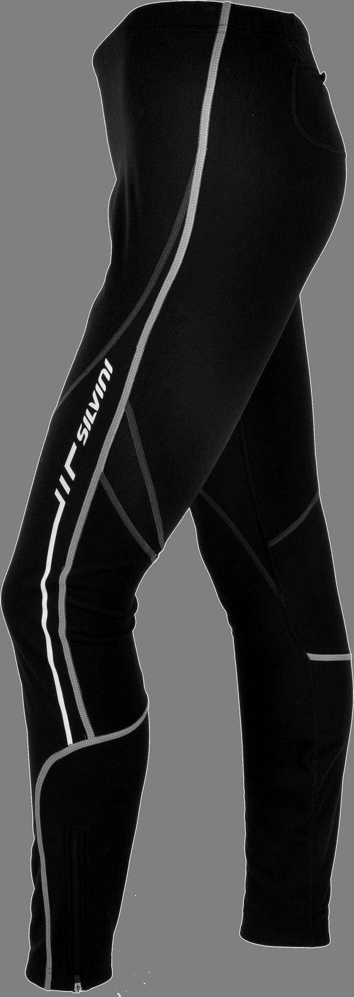 60d267501251d Dámske cyklistické nohavice dlhé Silvini Movenza WP55P s cyklovložkou