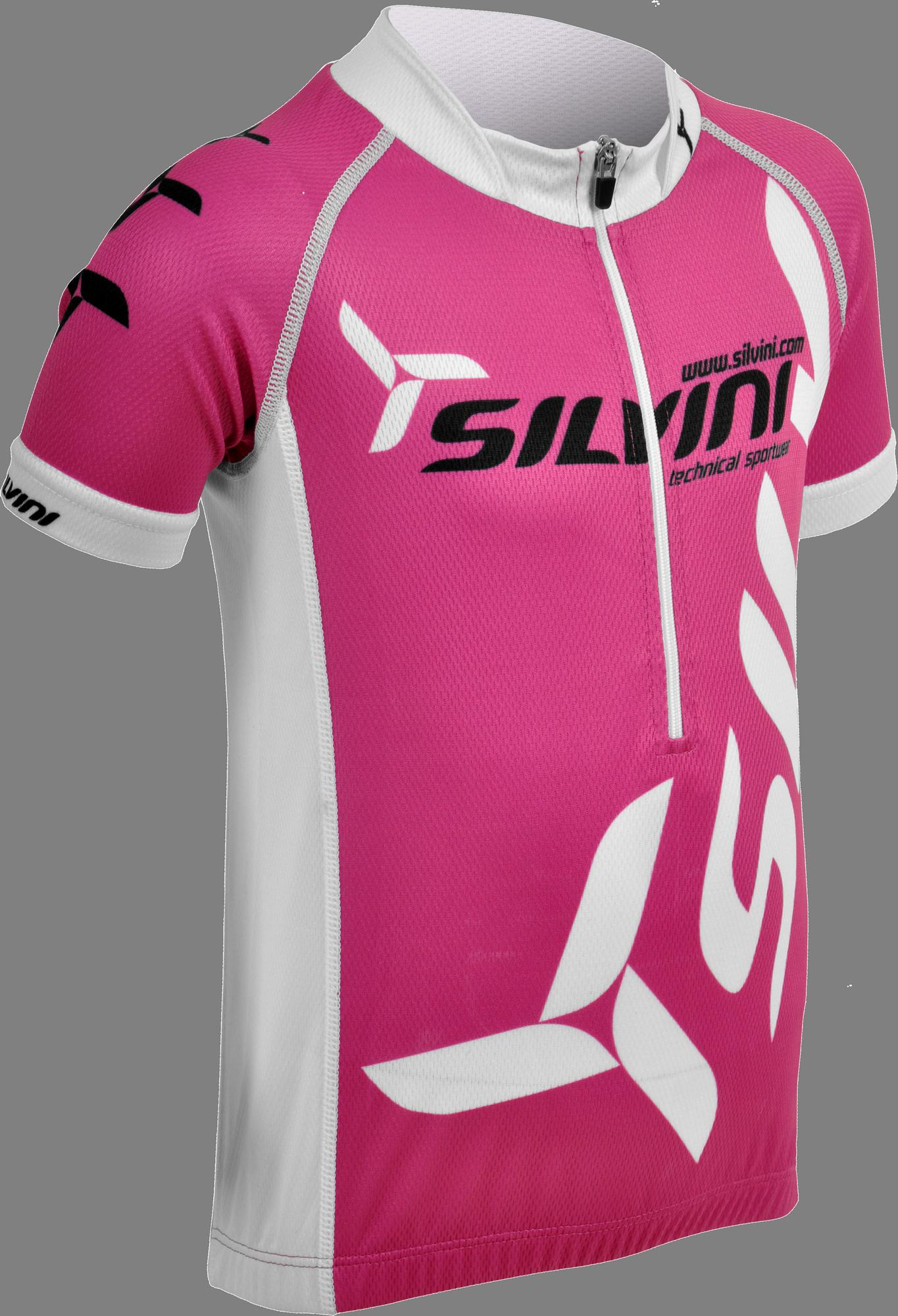 e0f51157f12d4 Detský cyklistický dres Silvini Team CD403J ružový