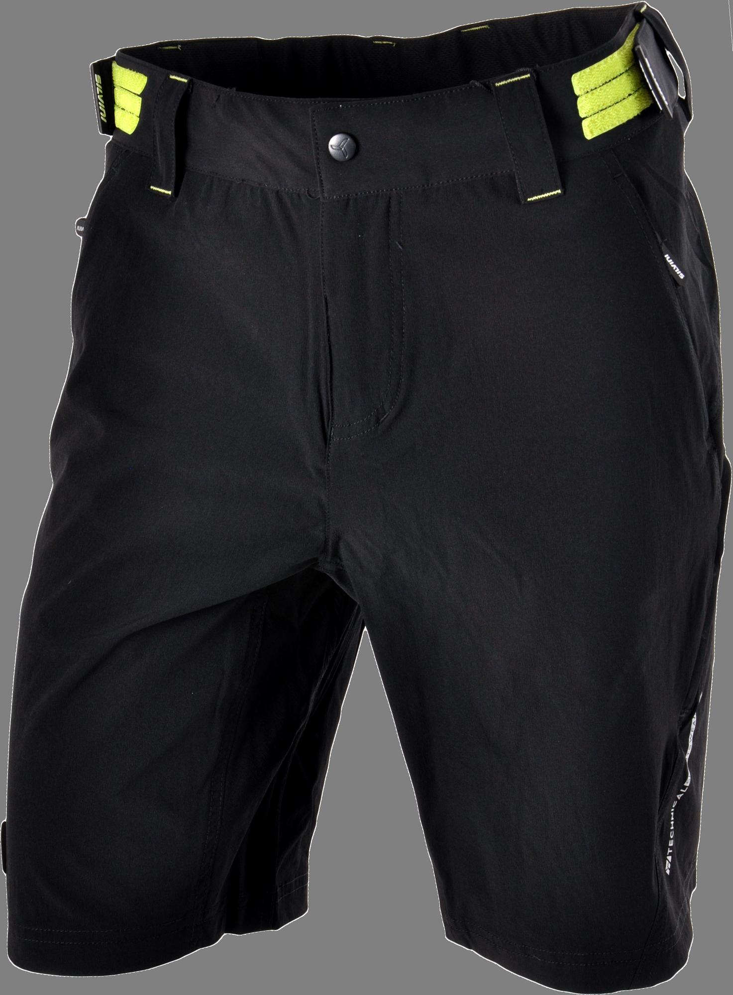 6923c963878 Pánske cyklistické šortky SILVINI ELVO MP809 čierna zelená