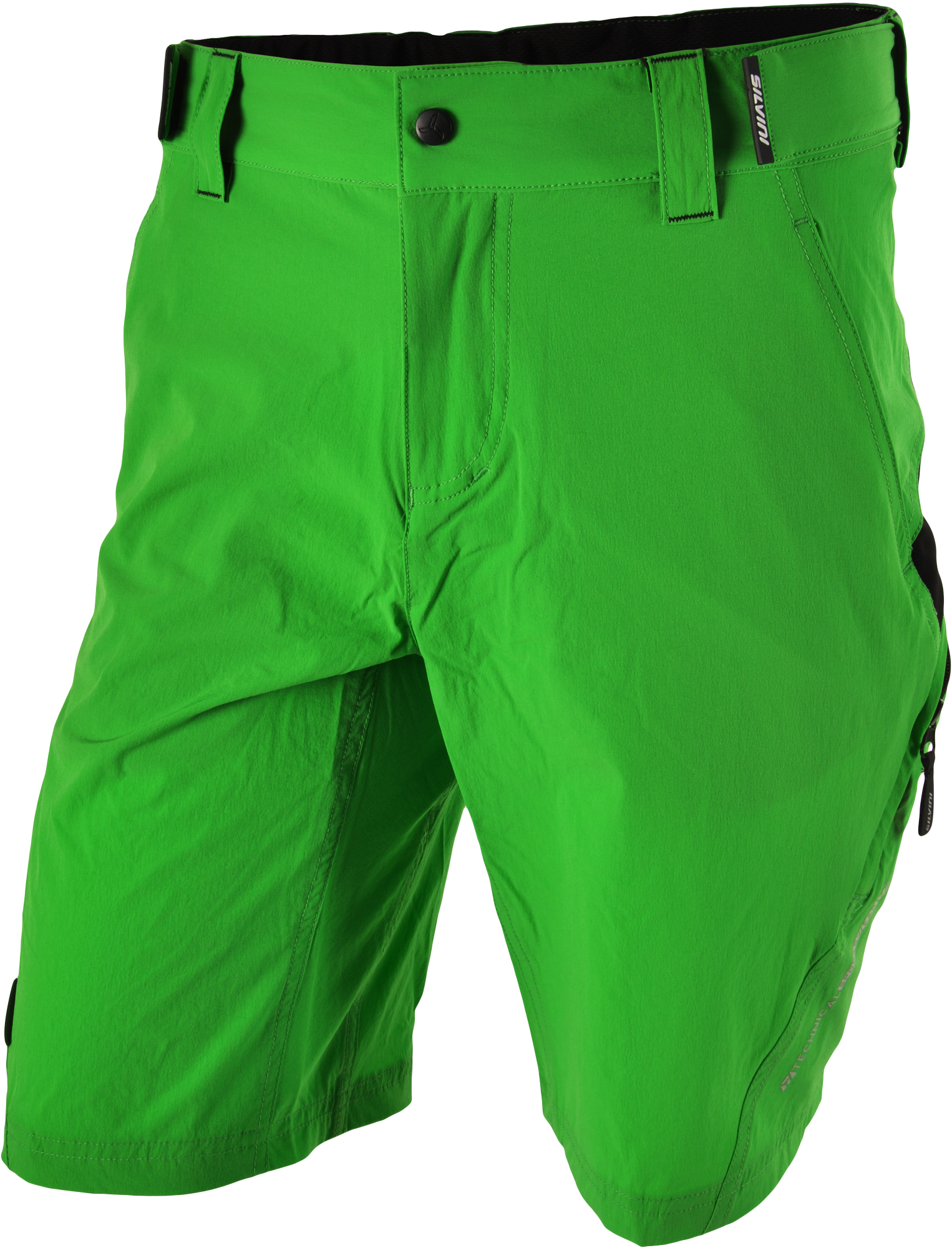 cbf8c8c14d5 Pánske cyklistické šortky SILVINI ELVO MP809 zelená