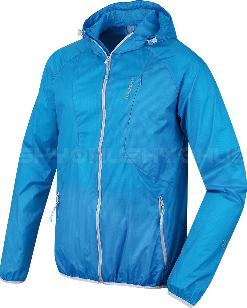 a8f7170207dc Pánska bunda Husky Lopy modrá - zbaliteľná