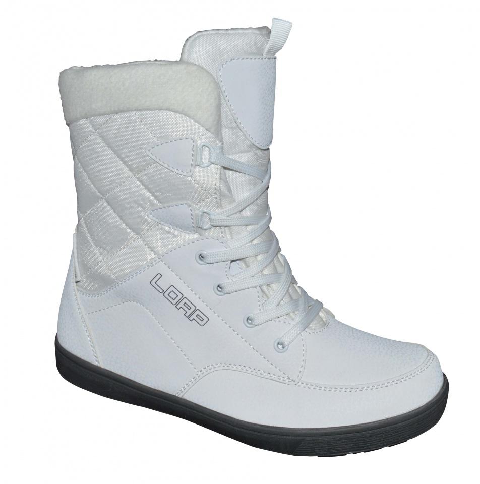 2ba49abeb6 Dámske zimné topánky Loap Portico biele