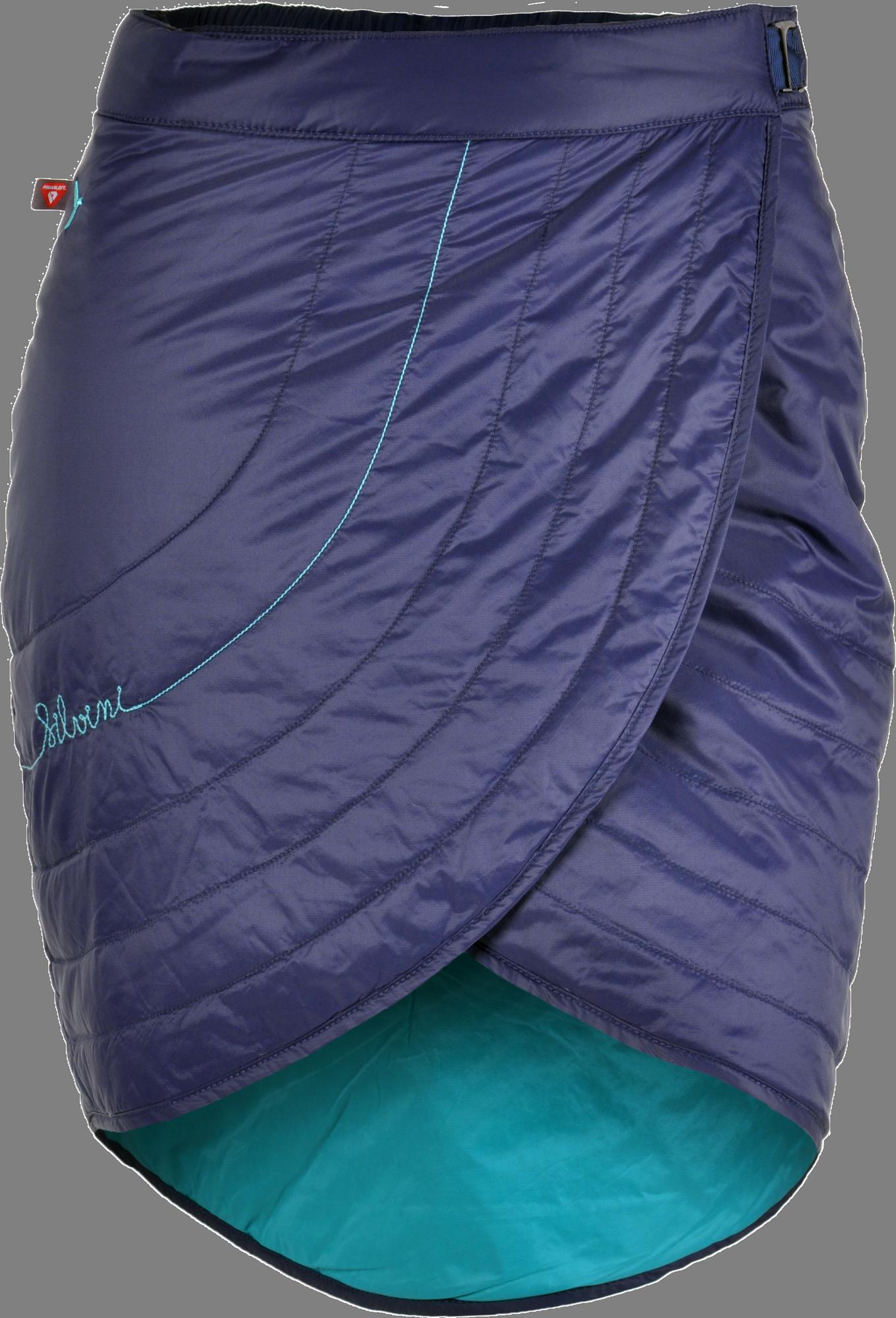 6feb253a478e Silvini Ballone WS1106 dámska prevleková sukňa navy-turquoise