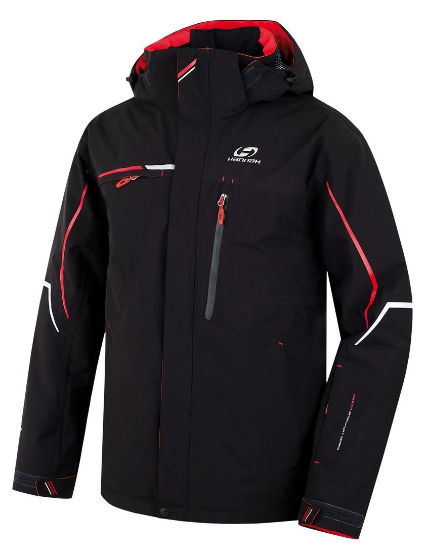 Hannah Merlin pánska zimná bunda čierna a54d1f8ea54