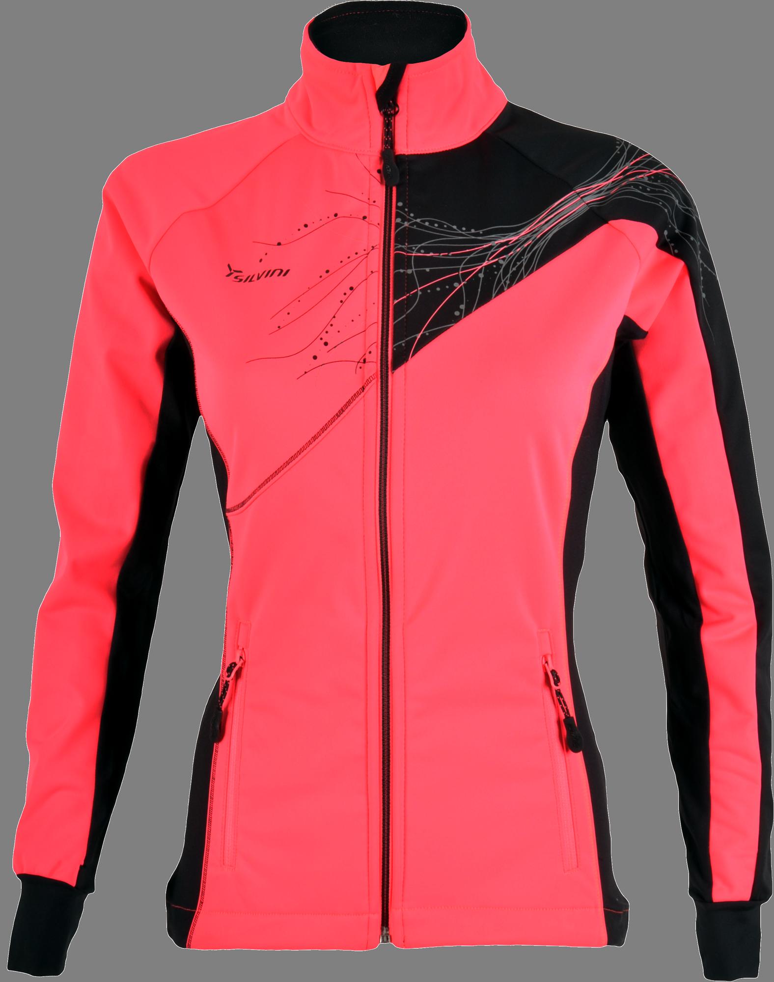 cca98e1ab026 Dámska softshellová bunda Silvini Monna WJ703 ružová čierna