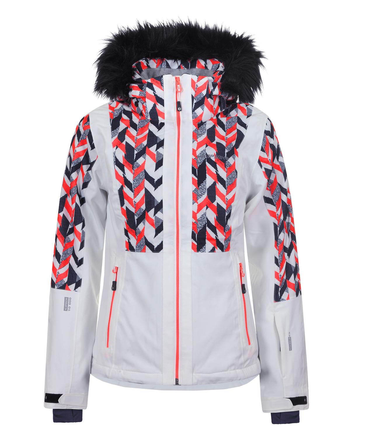 a6bbdb76a Dámska lyžiarska bunda Icepeak Nancy biela col. 980