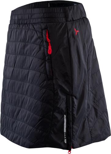 f64728448910 Dámska primaloftová sukně Silvini Cucca WS744 čierna červená