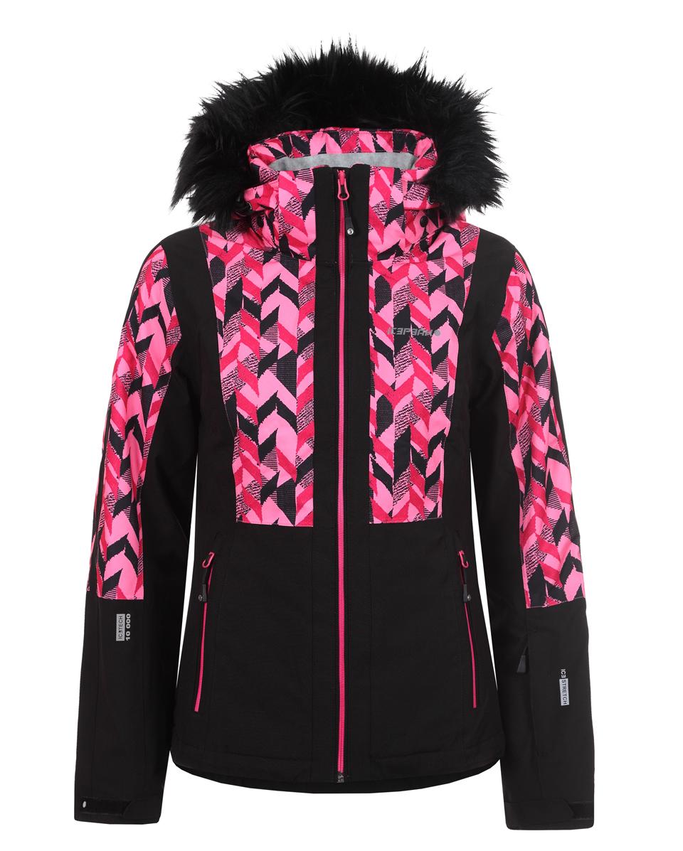 3bdac54f8 Dámska lyžiarska bunda Icepeak Nancy čierna/ružová col. 630