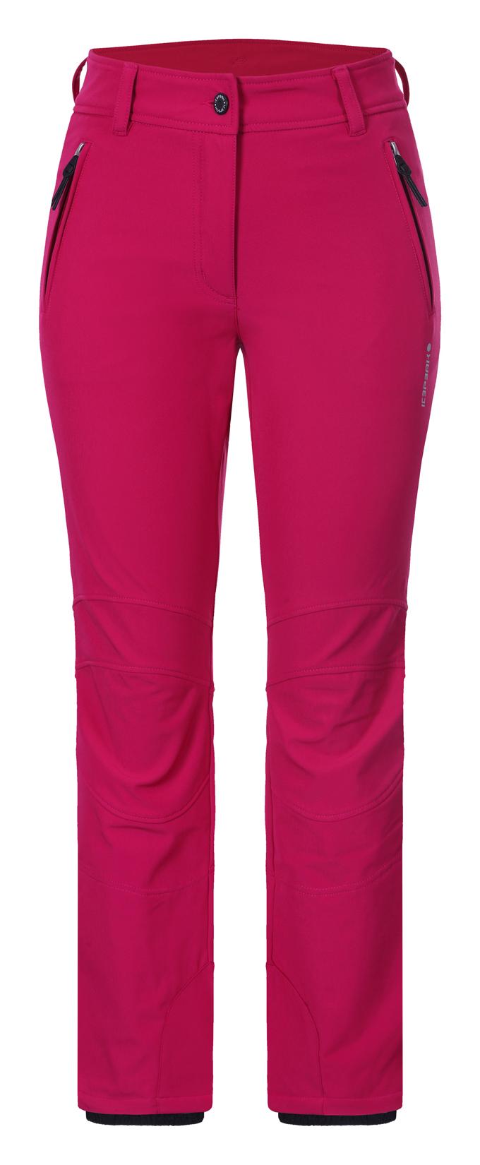 c541d81ba66e Dámske softshellové nohavice Icepeak Outi 54101-670 tm. ružové