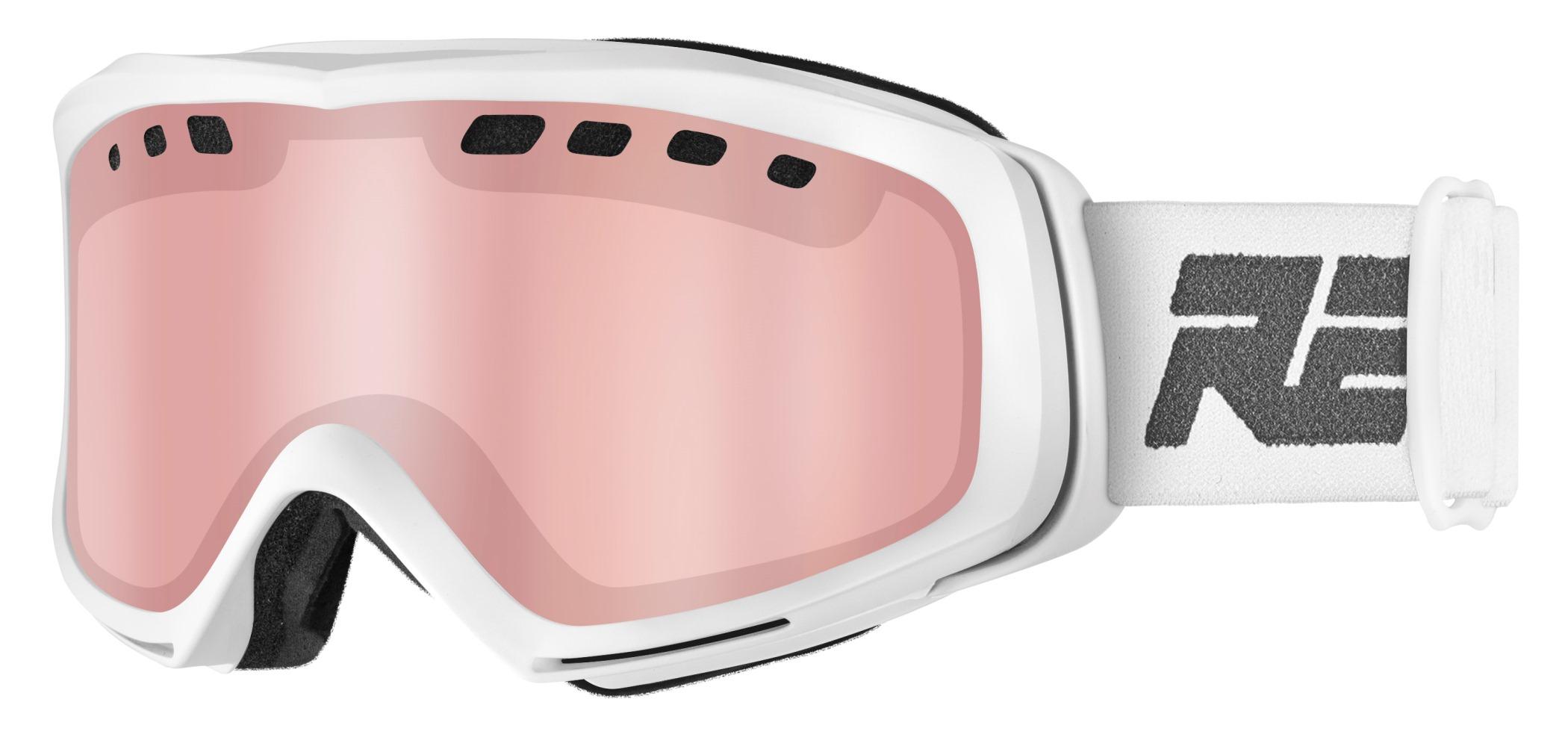 1349dc375 Lyžiarske okuliare Relax HTG66A SONIC biele