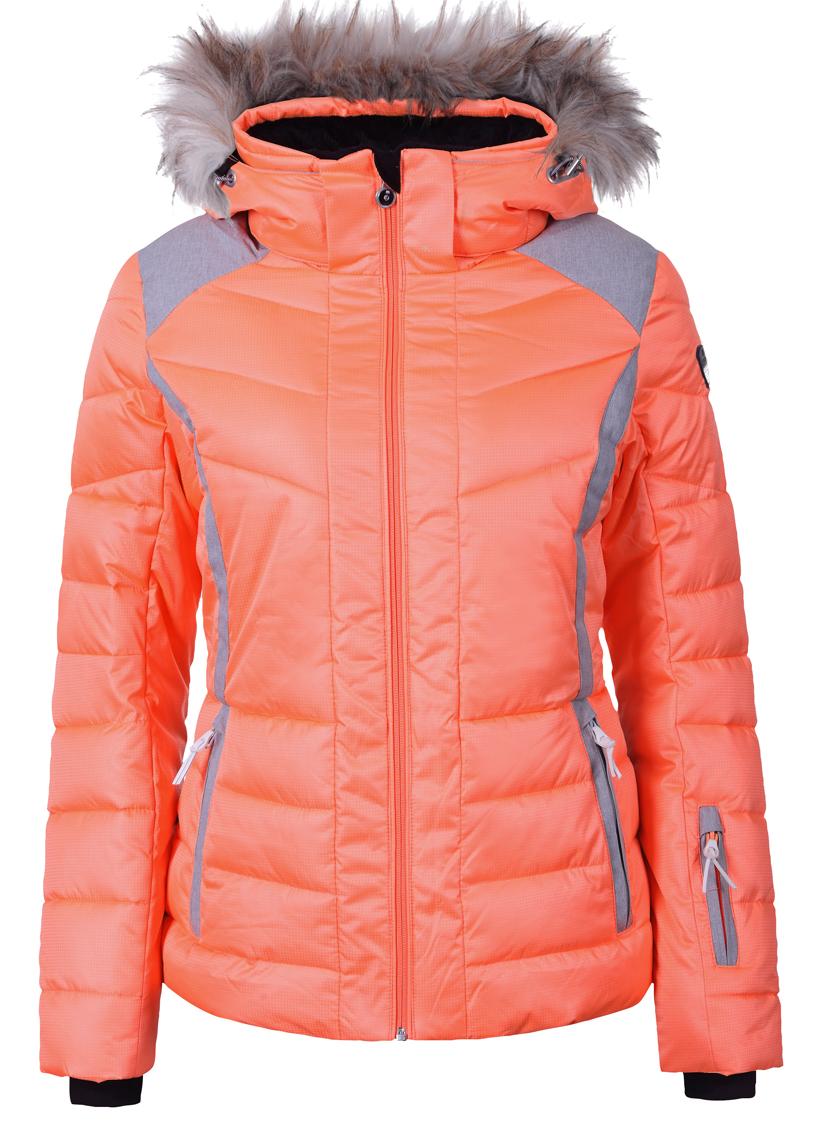 Dámska zimná bunda Icepeak Cindy I sv. oranžová col. 440 414dc93d8ea
