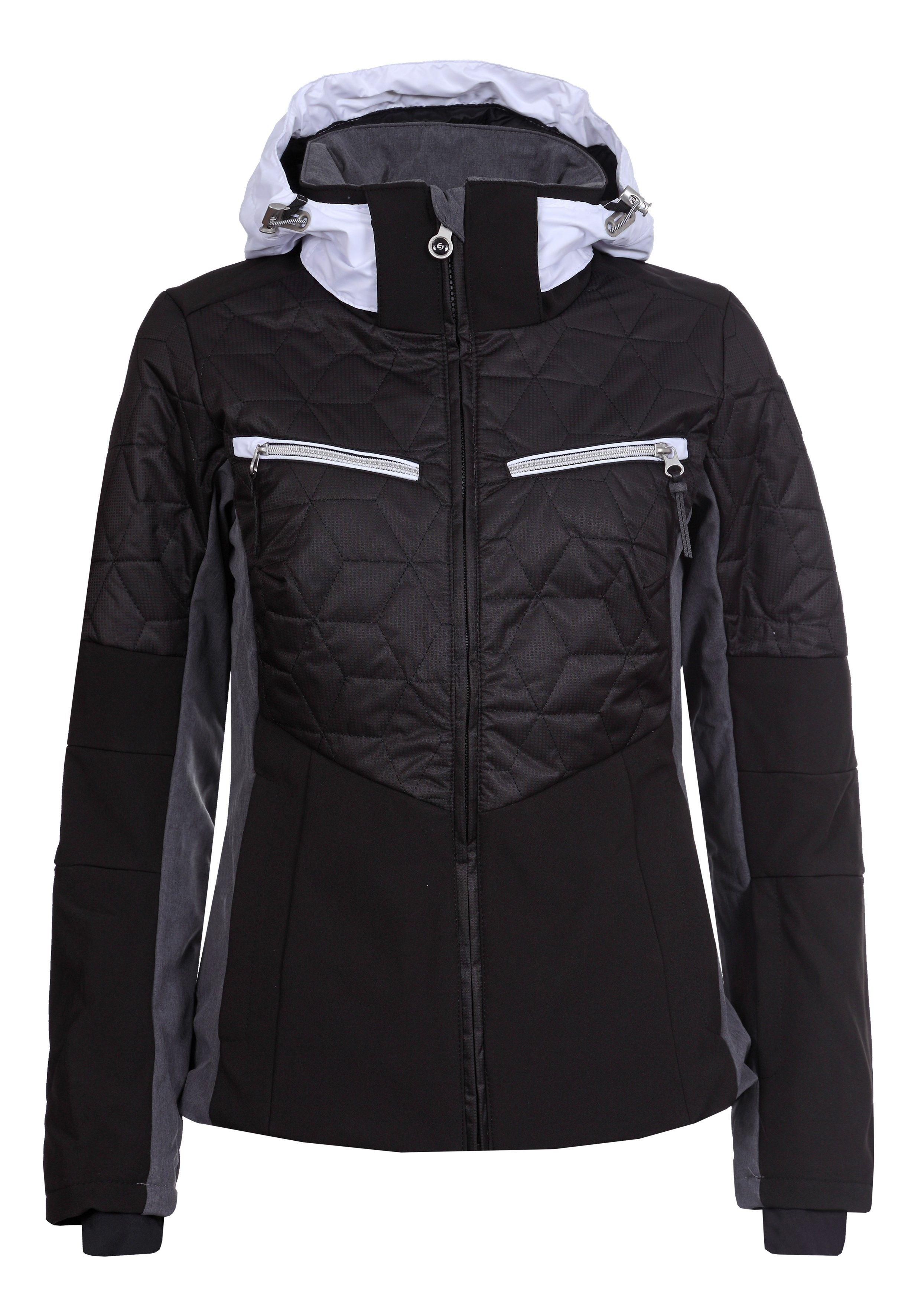 Dámska lyžiarska softshellová bunda Icepeak Chloe čierna col. 990 f281d6abbc1