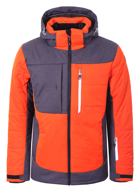 Pánská zimní bunda Icepeak Caj oranžová 2018 19 2a1ebc94ec3