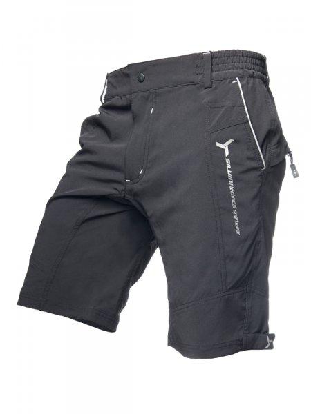 28484de293cb Pánské cyklistické šortky Silvini Borgo MP254 black-grey + DOPRAVA ZDARMA