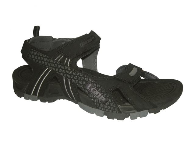 d212b2144c22 Pánske sandále Loap Pelonni čierne VÝPREDAJ