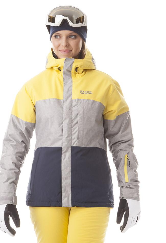 Dámska zimná bunda NORDBLANC NBWJL5832 žltá sivá tm.modrá empty cc54888e121