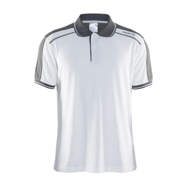 66dc12d1308a Pánske tričko CRAFT Noble 1905075-2900 biele