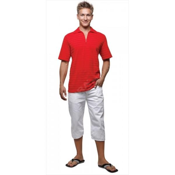 Pánské tričko Moira ST PK1 červené - polokošile 4083c55bd7c