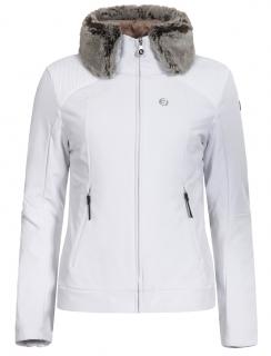 Dámska zimná softshellová bunda 3v1 Icepeak Celia biela zlatá 54950682-980  empty 0fa7ac40995