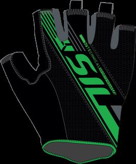 d7f8fe1f87f Pánské cyklistické rukavice Silvini Ispiene MA1017 čierna zelená empty