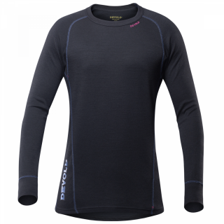 Pánske termo triko Devold DUO ACTIVE Man Shirt BLACK