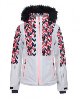 Dámska lyžiarska bunda Icepeak Nancy biela col. b4fa37132a