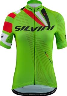 04fd94a66fbd6 Dámsky cyklistický dres Silvini Team WD1402 zelený empty
