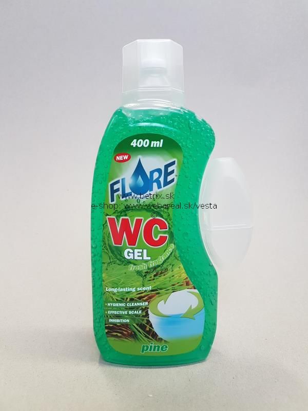 Flore  400ml WC gel + kosik