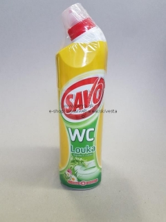 Savo WC 750ml gel jarná lúka