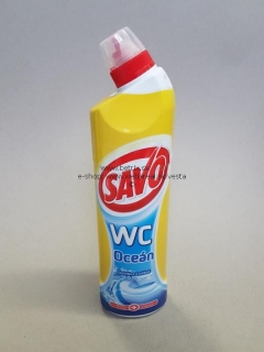 Savo WC 750ml gel oceán