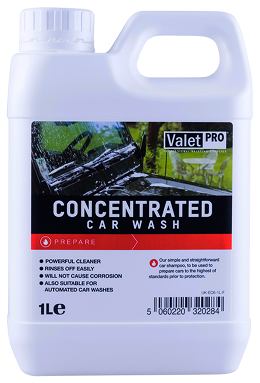 ValetPRO Concentrated Car Wash - Koncentrovaný šampón 1L