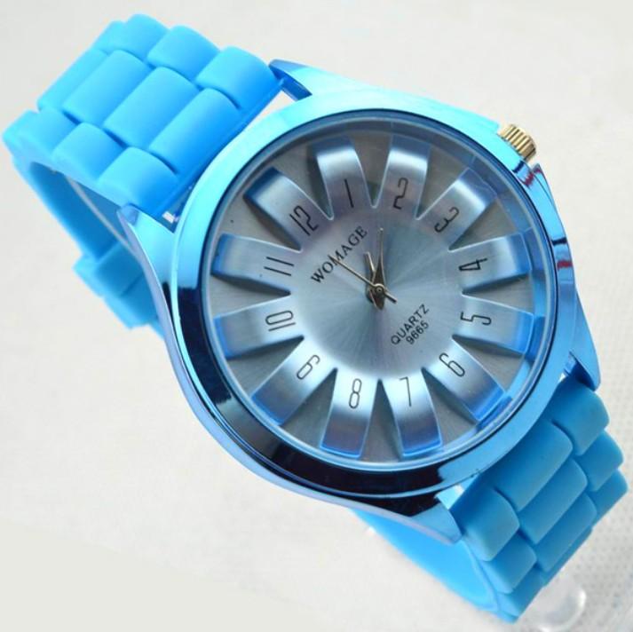 faf601f68 Dámske hodinky | Dámske hodinky GENEVA WOMAGE LIGHT BLUE | jeej.sk