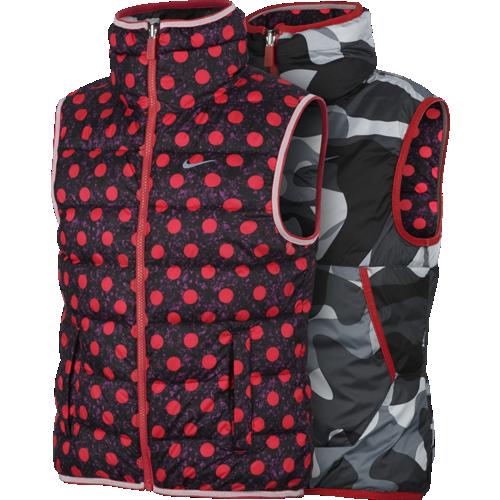 Nike dievčenská obojstranná vesta - 679816-696 empty bca1c3251e3