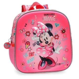42ad823e32a73 Junior batoh Minnie Stickers 3D 25 cm empty