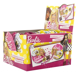 Barbie Popping Candy+Surprise s cukr.5g