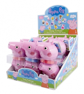 Peppa Pig container s cukríkmi 10g