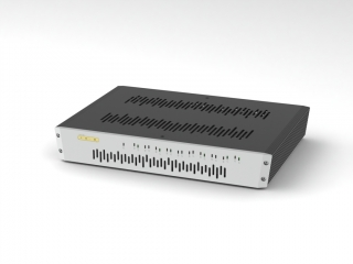 SOtM sNH-10G + sCLK-EX + vstup Master Clock Audiofilný switch + Upgrade