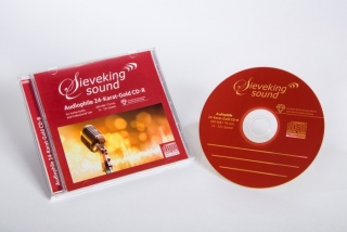 SIEVEKING SOUND 24-KARAT-GOLD CD