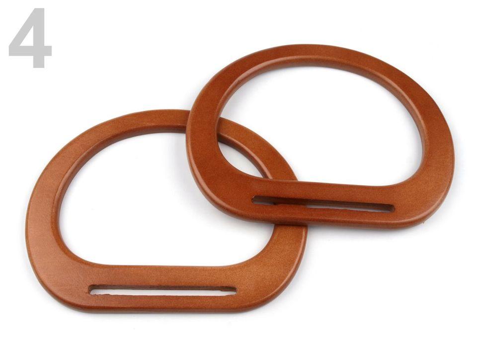 d40088245 Polotovary k výrobe kabeliek | Uchá na tašky drevené 13,5x17cm s ...